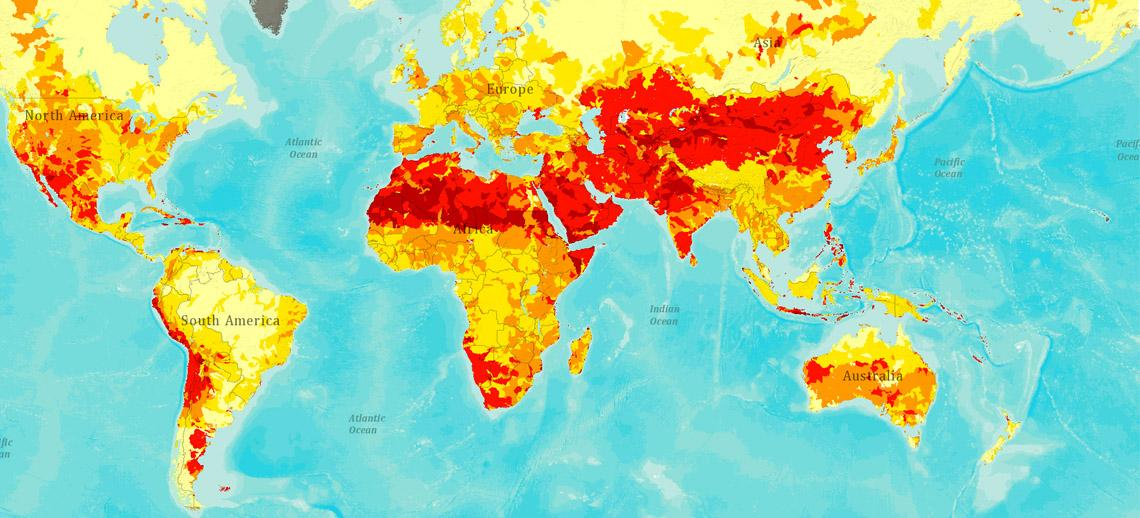 Waterrisico's wereldwijd in kaart gebracht